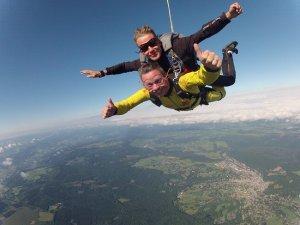 Saut en parachute - que faire à Bruxelles ?