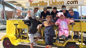 Beer bike à Lisbonne - Activité insolite à Lisbonne