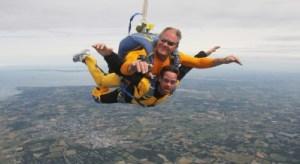 saut en parachute à La Baule - activité insolite à La Baule