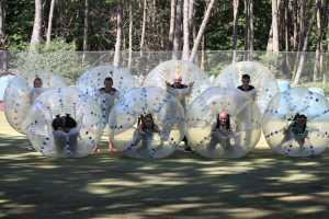 Bubble foot - Activité insolite à La Baule