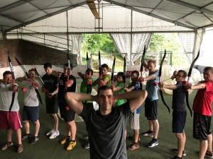 Archery tag - Activité insolite à Budapest