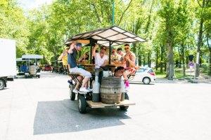 Beer bike Budapest - Activité insolite à Budapest