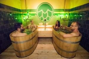 Beer spa - Activité insolite à Budapest