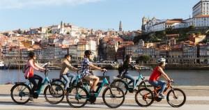 E-bike - activité insolite à Porto