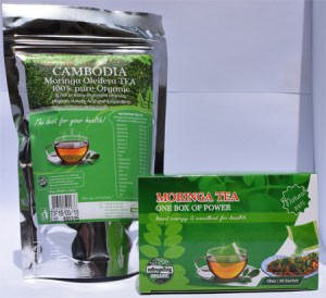 Organic Tea leaves and Tea box with 30 sachets