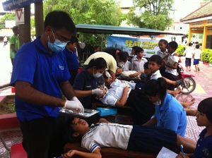 SILVER DIAMOND FLUORIDE (SDF), a 'Silver Bullet' for managing Dental Caries in Cambodia.