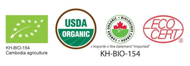 Baca-Villa organic certificates