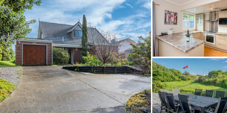 Puds Inn - Waikanae Beach Holiday Home