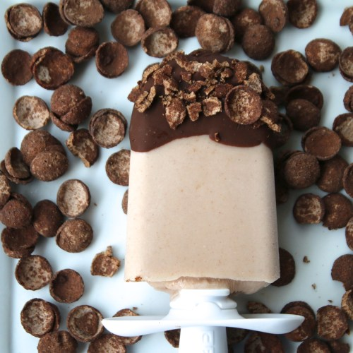 cereal milk pops organic cocoa clusters recipe popsicles treat chocolate