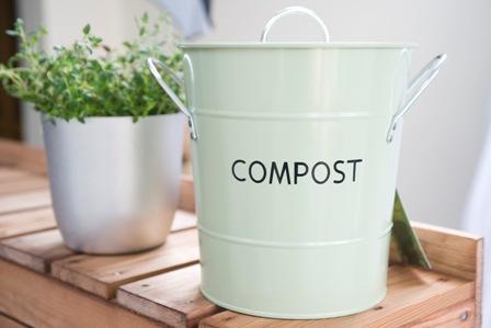 kitchen compost bin cute gardening