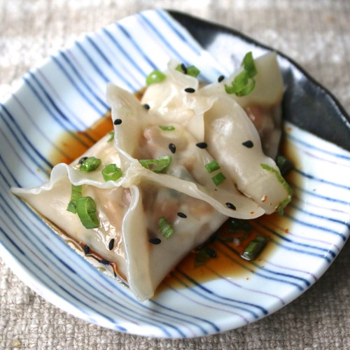 mushroom dumplings vegetarian recipe