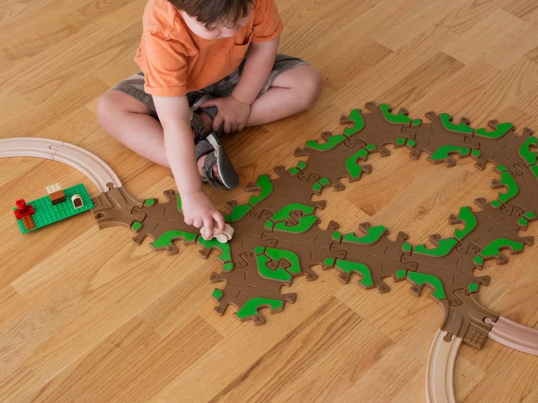 Tobo Toys Upcycled Play Tracks