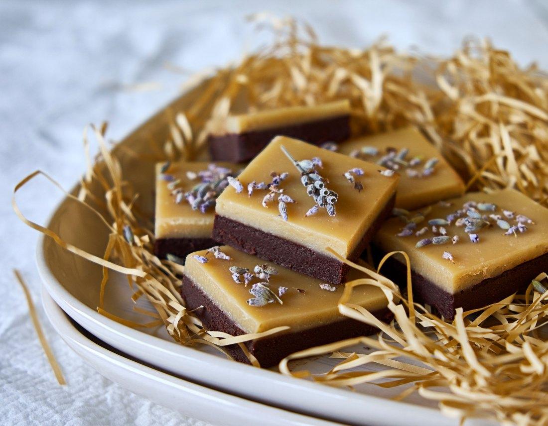 Chocolate Lavender Fudge 4
