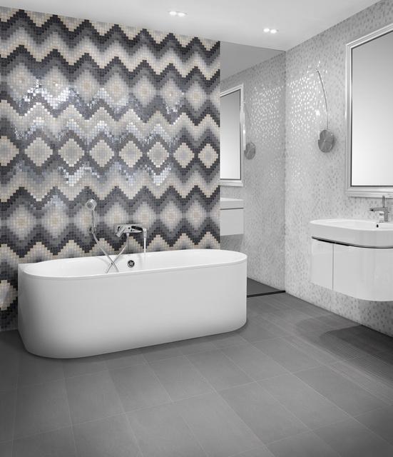 Il Nuovo Mosaico E Gli Specchi.Ceramiche Supergres E Il Nuovo Mosaico Bagno Italiano Blog