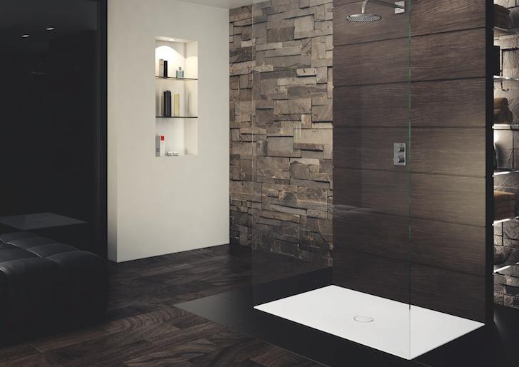 Scona il nuovo piatto doccia a filo pavimento di kaldewei - Bagni con doccia a pavimento ...