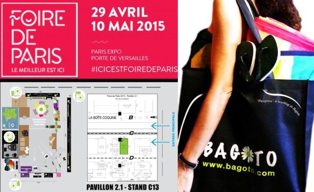 Bagoto, à la Foire de Paris 2015