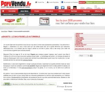 "Article presse ""ParuVendu.fr"""