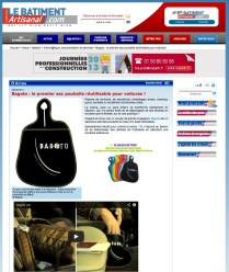 "Article presse ""Le BATIMENT Artisanal"" .com"