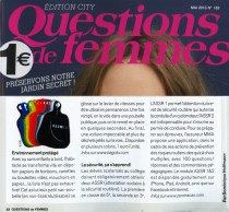 "Article presse ""Questions de femmes"""