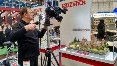 Aufnahmen am Viessmann-Kibri-Vollmer Messestand.