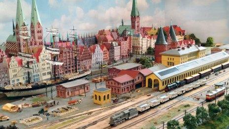 Spur Z-Diorama Lübeck 1905 von Wolf-Ullrich Malm