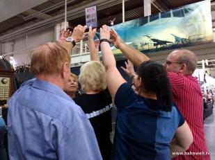 Die Jahres-DVD der Modellbahn Umschau gab es in Sinsheim bei der richtigen Antwort gratis.