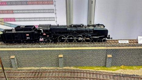 Märklin zeigte ein erstes Muster der SNCF-Dampflok 241-A-65.
