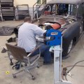 Using Baileigh Shrinker Stretcher MSS-16 on the 51 Chevy Tin Woody