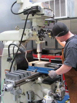 Ekstrom Design Uses Baileigh Drill Press