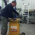 Action Manufacturing using Baileigh Tube Bender RDB-175