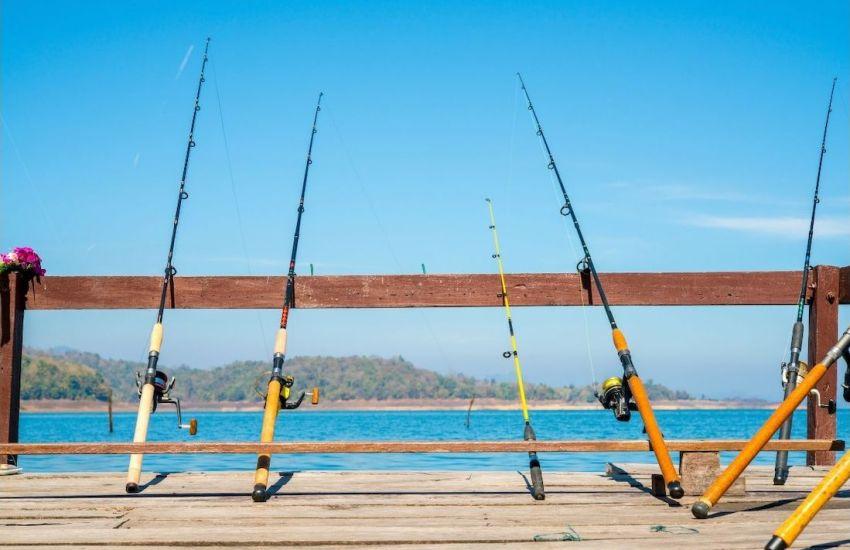 stocked pond fishing