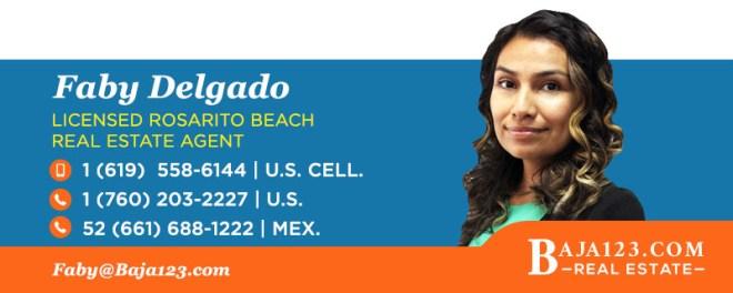 Faby Delgado - Rosarito Beach Real Estate Agent