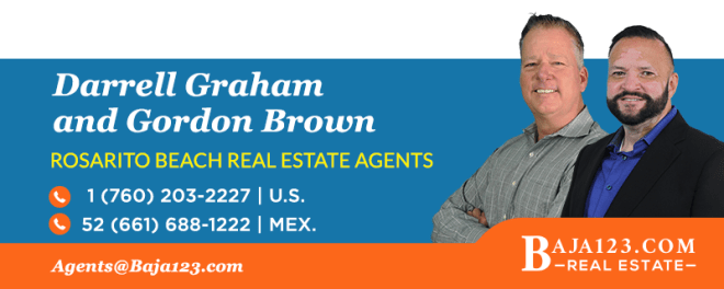 Darrell Graham and Gordon Brown - Rosarito Beach Real Estate Agents