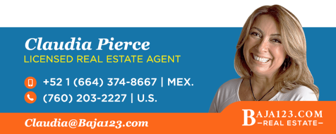 Claudia Pierce, Rosarito Beach Real Estate Agent