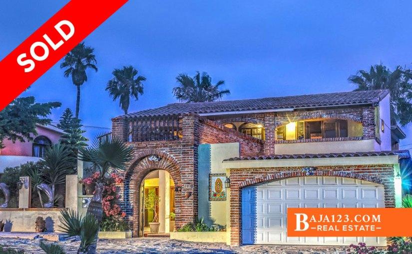 SOLD – Ocean View Home for Sale in Castillos del Mar, Playas de Rosarito