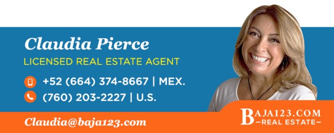 Claudia Pierce - Rosarito Beach Real Estate Agent
