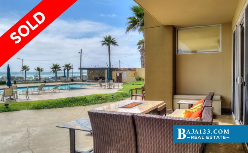SOLD – Oceanfront Condo For Sale in Riviera de Rosarito, Playas de Rosarito – $375,000 USD