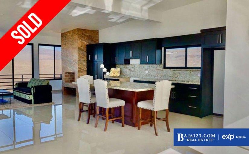 SOLD – Ocean View Home For Sale in Rancho Del Mar, Playas de Rosarito – $209,000 USD
