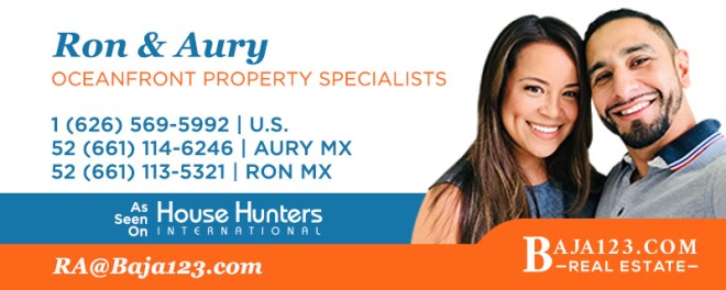 Ron and Aury - Rosarito Beach Real Estate Agents