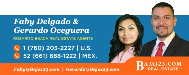 Gerardo and Faby - Rosarito Beach Real Estate Agents