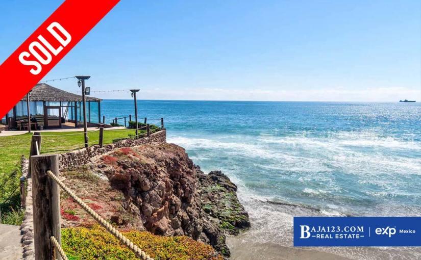 SOLD – Ocean View Home For Sale in Castillos del Mar, Playas de Rosarito – $289,000 USD