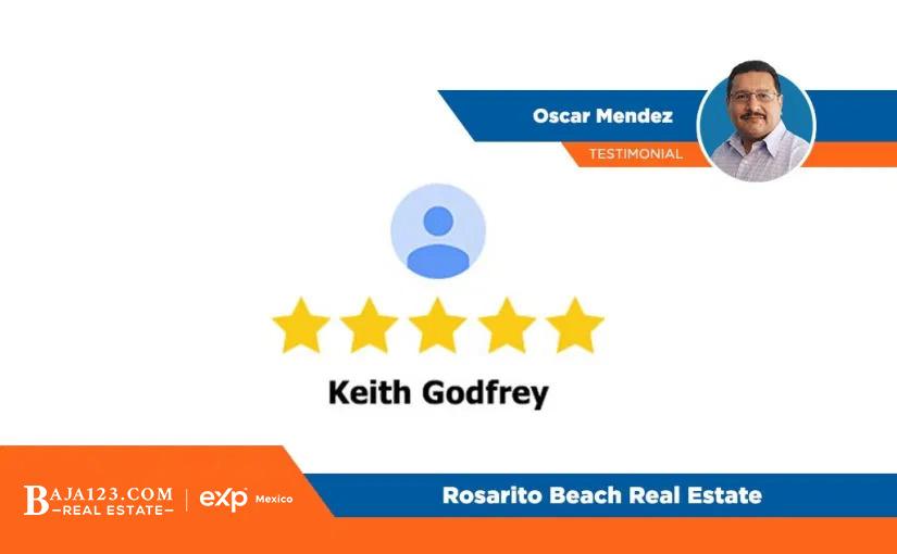 Oscar Mendez Client Experience – Rosarito Beach