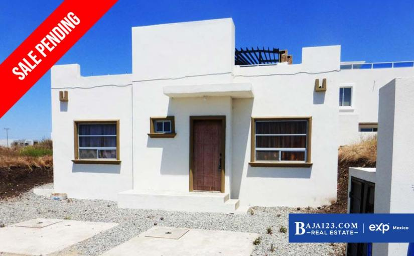 SALE PENDING – Ocean View Home For Sale in Punta Azul, Playas de Rosarito – $145,000 USD