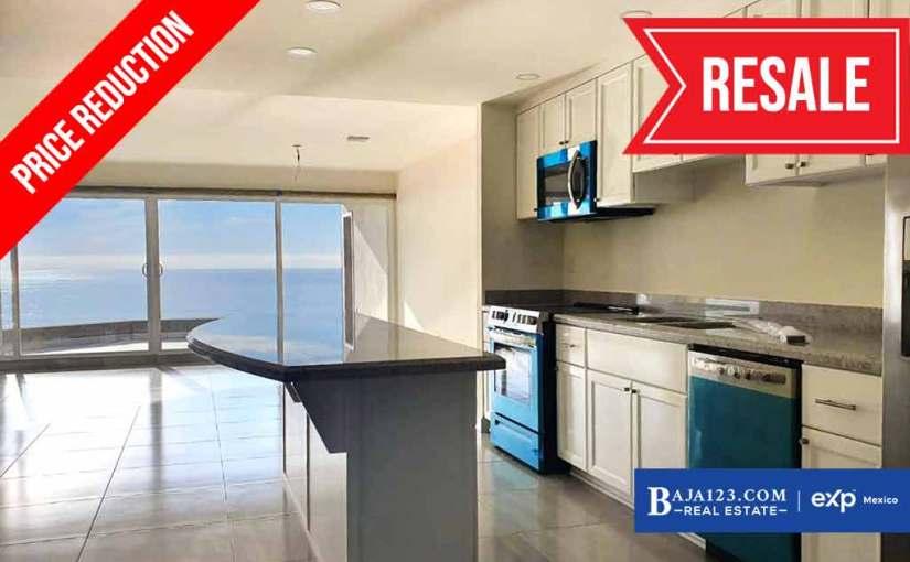 PRICE REDUCTION – Oceanfront Condo For Sale in La Jolla Excellence, Rosarito – $375,000 USD