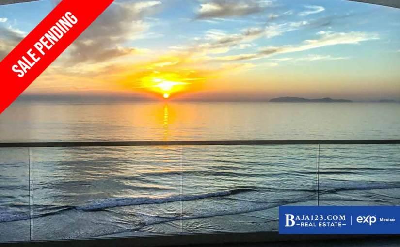 SALE PENDING – Oceanfront Condo For Sale in Las Olas Mar y Sol, Rosarito – $269,999 USD