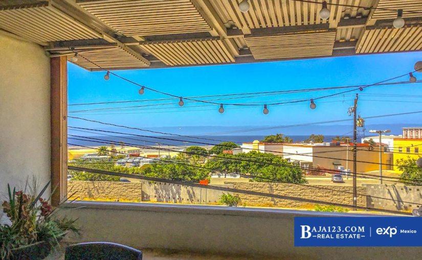 Ocean View Home For Sale in Popotla, Playas de Rosarito – $194,000 USD