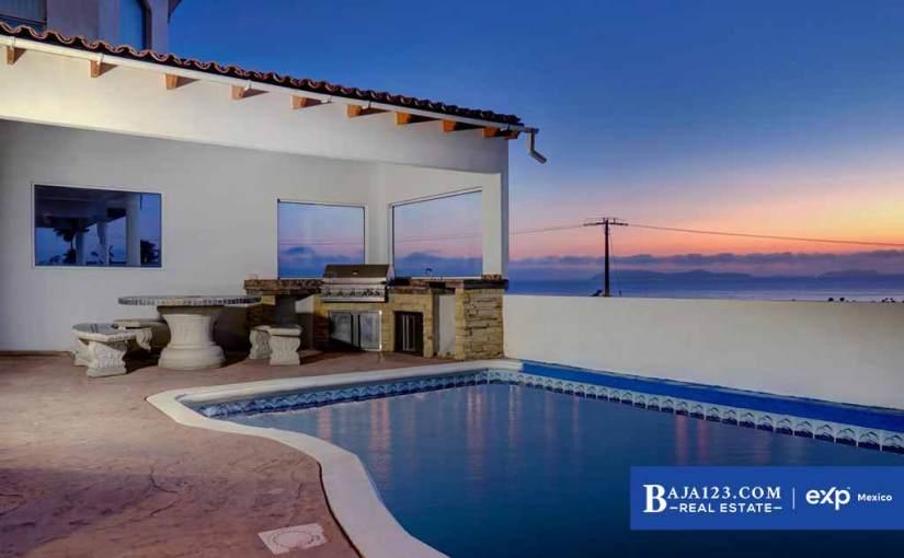 Ocean View Home For Sale in Baja Malibu Lomas, Tijuana – $413,025 USD