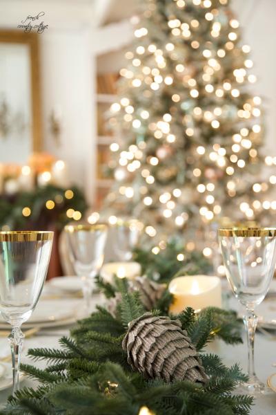 Inspiration A Christmas Wedding Table Balsam Hill