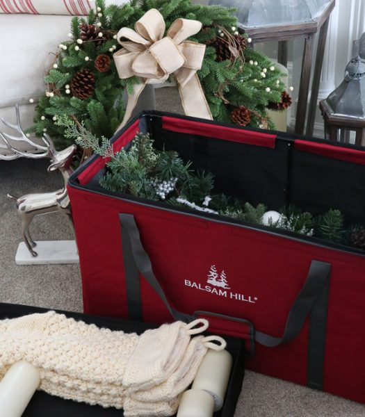 4 Christmas Dcor Storage Solutions Balsam Hill Blog