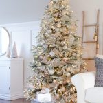 A Snowy Flocked Christmas Tree Theme Balsam Hill